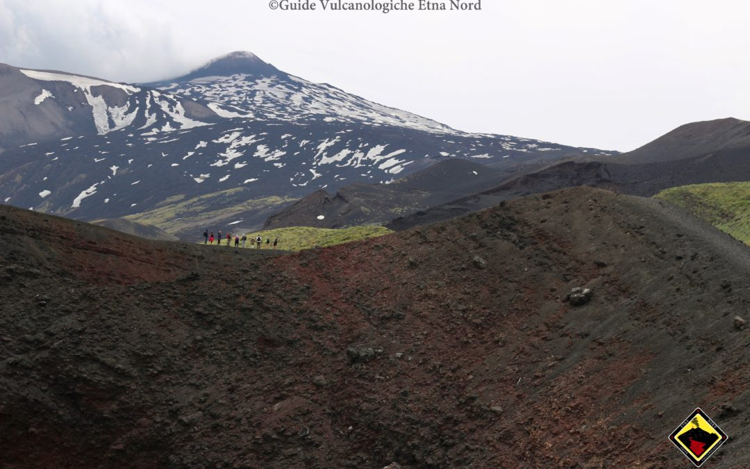 Crateri del 2002, hornitos, fratture del 1911 e del 1923