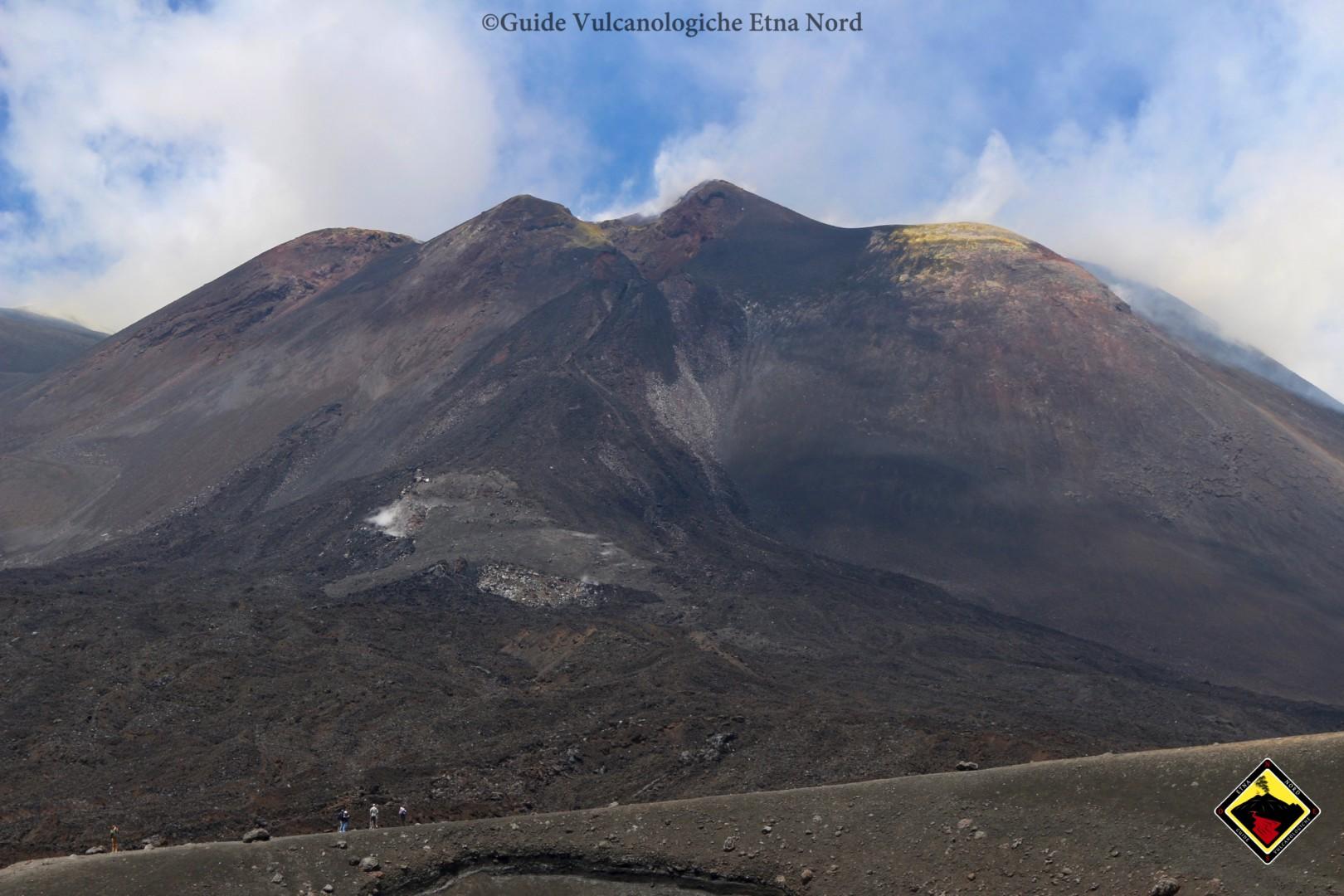 Cratere di Sud Est e le lave recenti da quota 2900mt