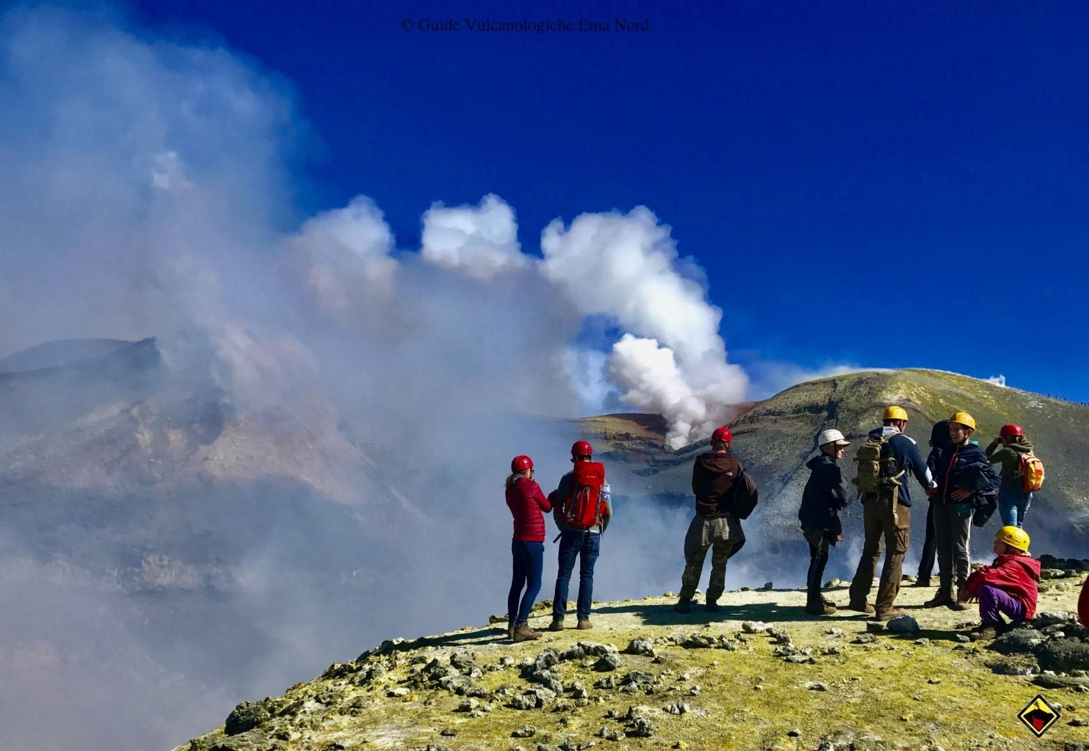 Trekking : Crateri Sommitali Etna Sud