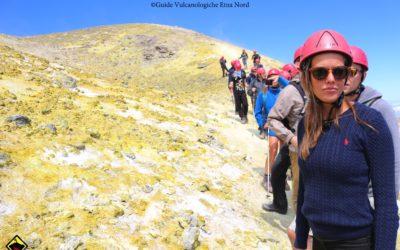 Escursioni ai Crateri Sommitali dell'Etna
