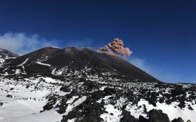 Aggiornamento – attività eruttiva dell'Etna – Guide