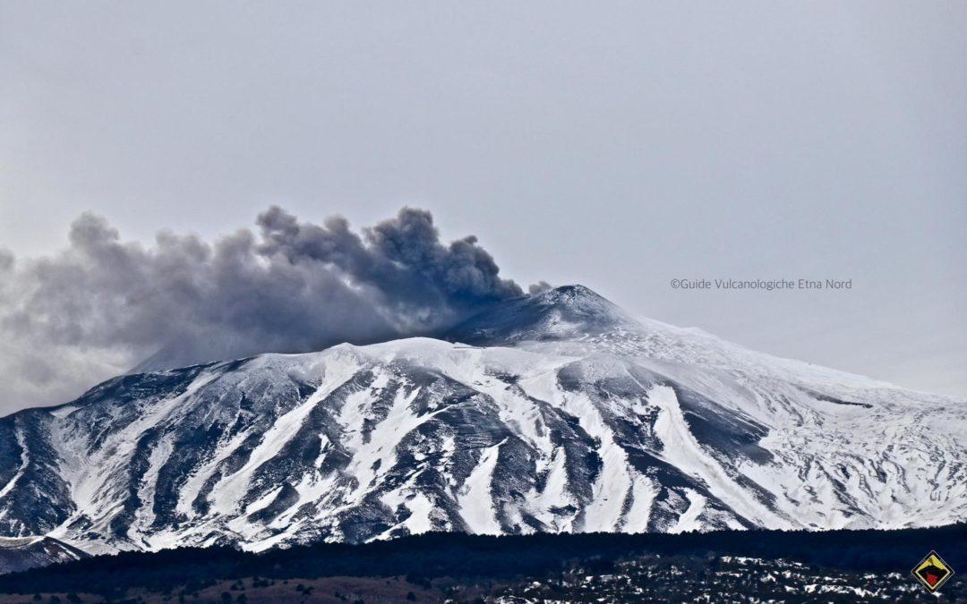 Aggiornamento – Stato dell'attività eruttiva dell'Etna 13 Gennaio 2019