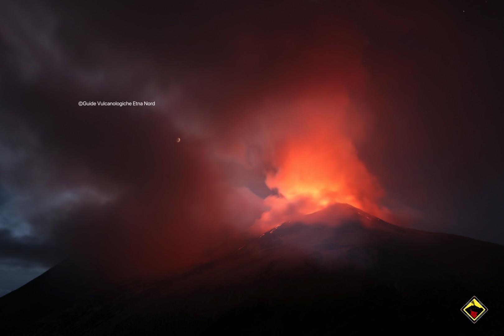 Aggiornamento – Stato dell'attività eruttiva dell'Etna 17 settembre 2019