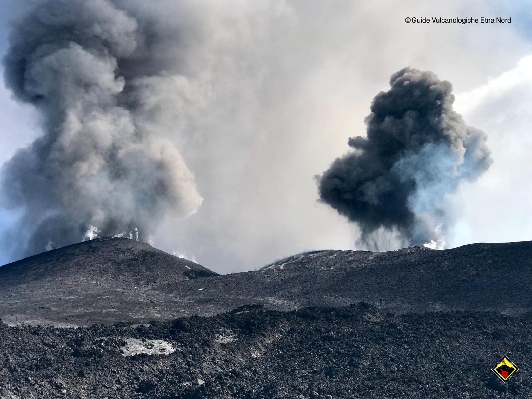 Aggiornamento – Stato dell'attività eruttiva dell'Etna 30 settembre 2019