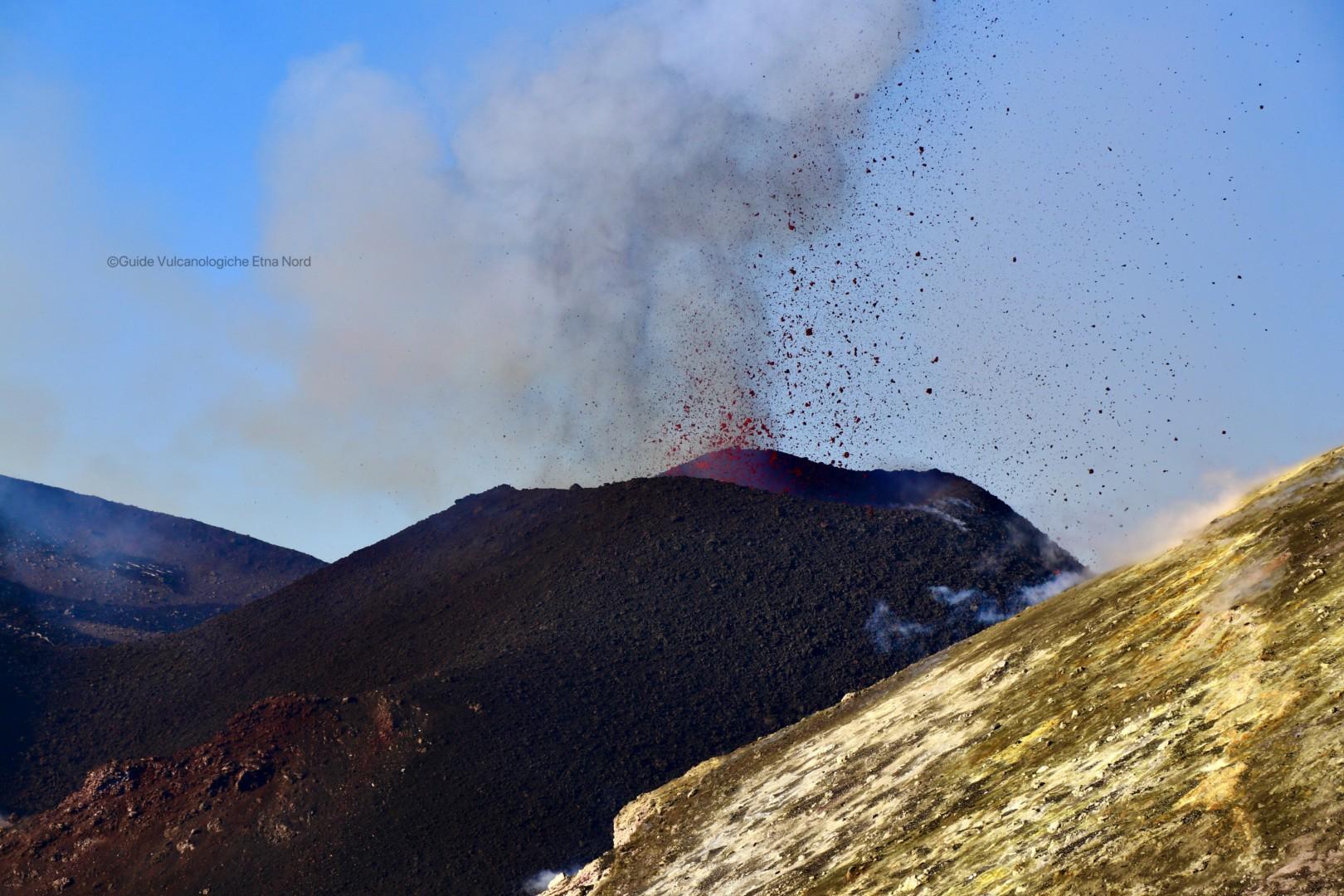 Accesso ai Crateri Sommitali dell'Etna – Comune di Zafferana Etnea 17 dicembre 2020