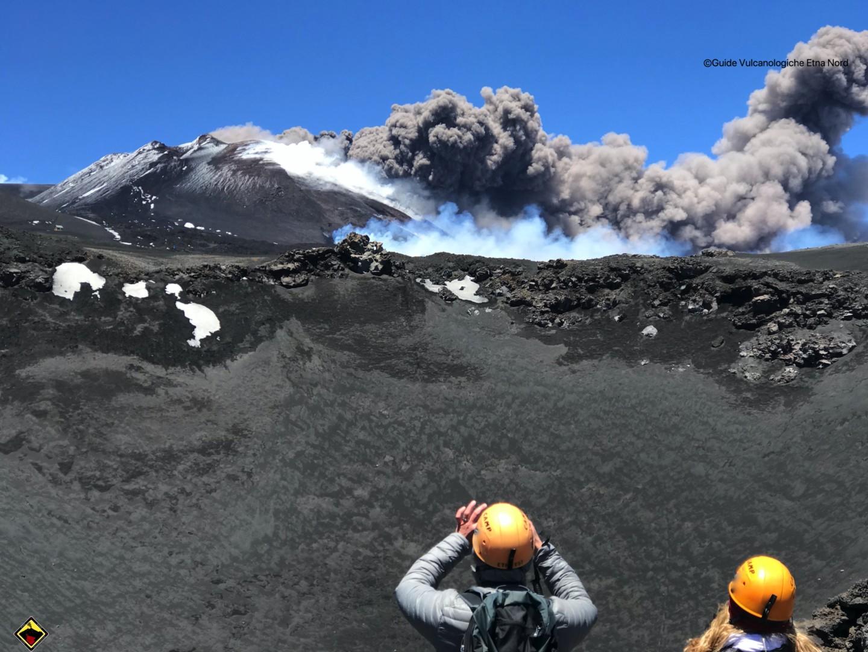 Etna: Escursioni sul vulcano riprese regolarmente dopo l'Emergenza Covid-19