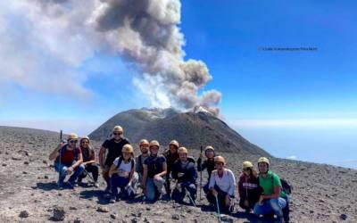 Etna: Successo inaspettato delle escursioni sul vulcano nonostante la Pandemia
