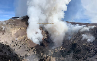 Excursion to the top of the Etna Volcano at an altitude of 3300 meters