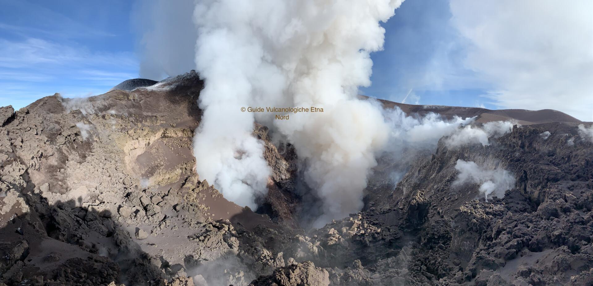 Escursione in cima al Vulcano Etna a quota 3300 mt