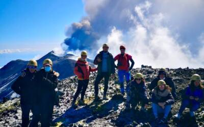 How to climb to the Central Crater of Etna