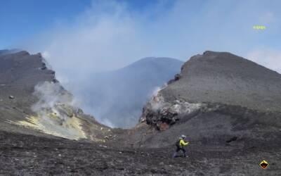 Aggiornamento attività eruttiva dell'Etna 9 maggio 2021